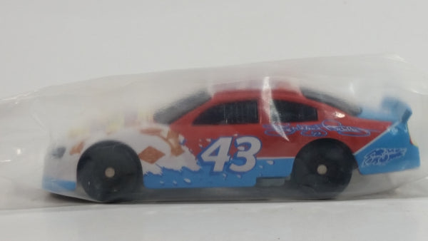 2008 NASCAR General Mills Cinnamon Toast Crunch Cereal Betty Crocker #43 Richard Petty White Blue Red Die Cast Toy Race Car Vehicle New in Package