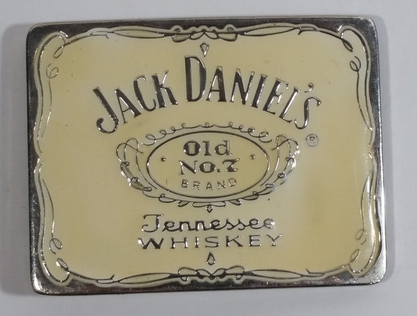 Jack Daniel's Old No. 7 Tennessee Brand Whiskey Enamel and Metal Belt Buckle