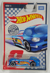 2017 Hot Wheels Racing Circuit Deora II Blue 8/10 Die Cast Toy Car Vehicle - New in Package Sealed
