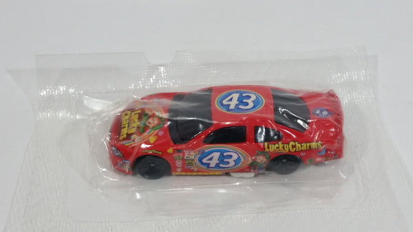 2001 Hot Wheels NASCAR General Mills Lucky Charms 2001 Dodge Intrepid Richard Petty #43 Red Die Cast Toy Race Car Vehicle New in Package