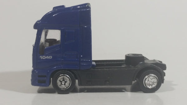 Unknown Brand Scania 1040 Blue Semi Tractor Truck Die Cast Toy Vehicle Rig