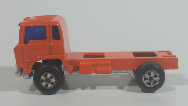 Vintage Gordy International Mini Mite Ford Cement Mixer  Truck Orange Die Cast Toy Vehicle - Hong Kong