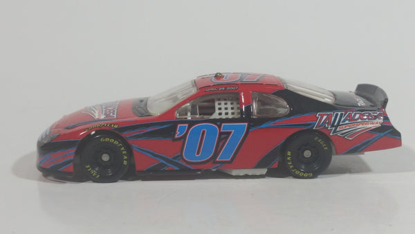 2007 Action Racing Talladega Nights Ford Fusion '07 Red Black RaceTickets.com Racing One Die Cast Toy NASCAR Race Car Vehicle
