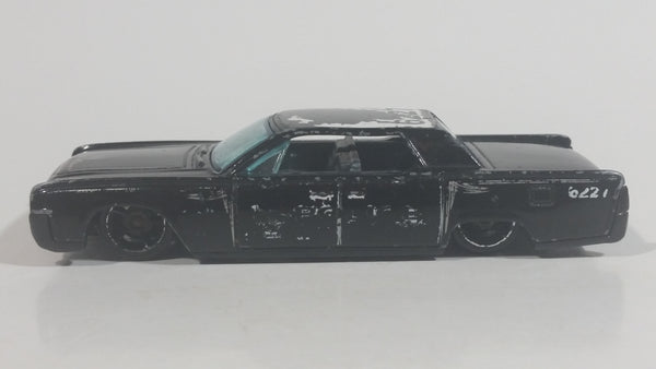 2012 Hot Wheels HW Main Street '64 Continental Police Cops Black Die Cast Toy Muscle Car Vehicle