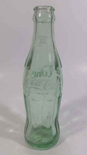 Vintage Coca Cola Coke Soda Pop Green Glass 6 1/2 oz. Hobble Skirt Beverage Bottle Camden Arkansas