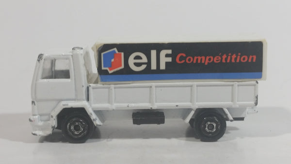 Majorette Ford Truck Elf Competition 1/100 Scale White No. 241 - 245 Die Cast Toy Car Vehicle