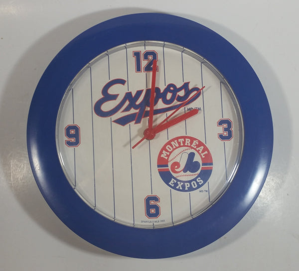 "1993 MLB Montreal Expos Baseball Team Round 10 1/2"" Diameter Clock Sports Collectible"