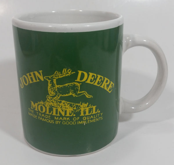Gibson John Deere Tractors Moline, Illiniois Ceramic Coffee Mug Farming Collectible