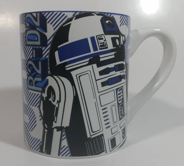 LucasFilm Star Wars R2D2 Robot Blue and White 414mL Ceramic Coffee Mug