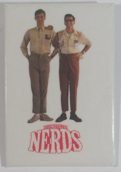 Rare Hard to find 1984 Revenge of the Nerds Comedy Movie Film Anthony Edwards and Robert Carradine Rectangular Shaped Pin
