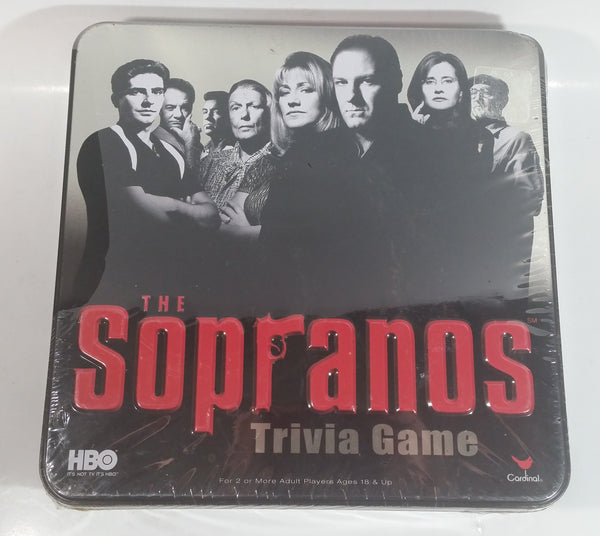 2004 HBO Television Series The Sopranos Trivia Game New Never Played Partially Sealed