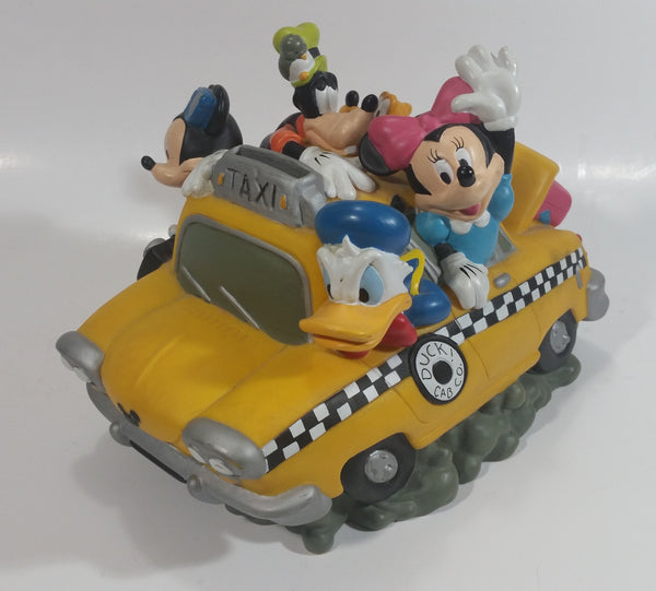 Disney Fab 5 Duck Cab Co. Taxi Vinyl Coin Bank Cartoon Collectible