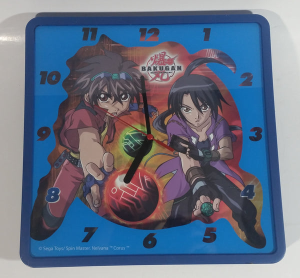 Sega Toys Spin Master Nelvana Bakugan Battle Brawlers Blue Clock Japanese Canadian Cartoon Collectible