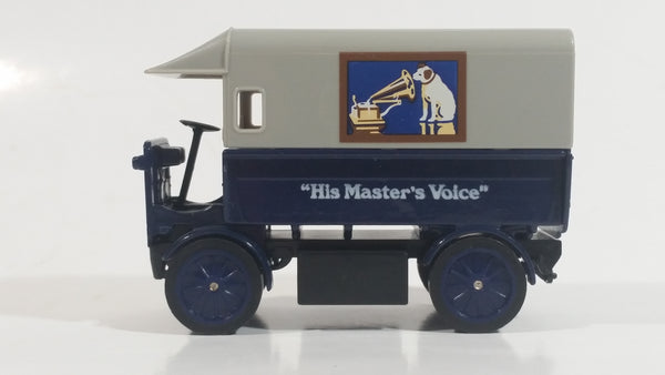 "Matchbox Y-29 Models of Yesteryear 1919 Walker ""His Master's Voice"" Dark Blue and Grey Die Cast Toy Car Vehicle"