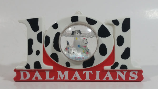 1996 Disney 101 Dalmatians Movie Film Cartoon Puppy Dog Filled Snow Globe Toy McDonald's Happy Meals