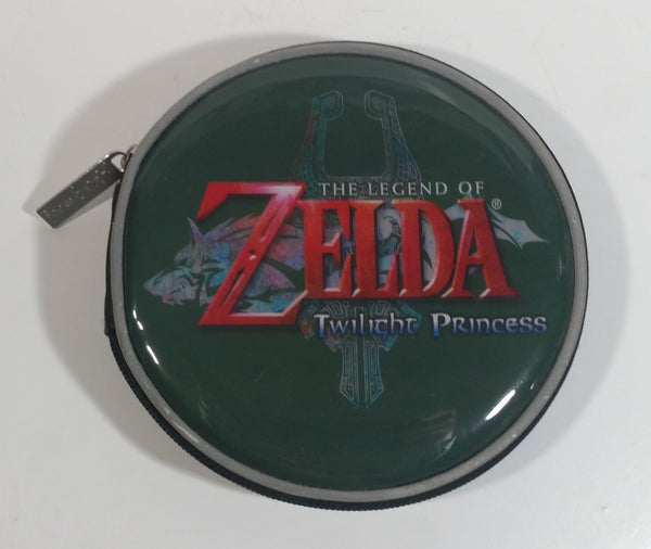 The Legend of Zelda Twilight Princess Video Game Green Disc Holder