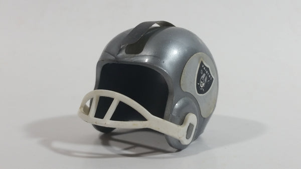 Vintage OPI Oakland Raiders NFL Team Gumball Miniature Mini Football Helmet