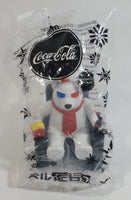 "2018 Limited Edition Cineplex Movie Theatres Coca-Cola Coke Polar Bear Watching a 3D Movie with Popcorn and Bottle Hanging 3"" Ornament Brand New In Package"