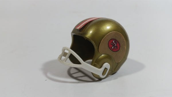 Vintage OPI San Francisco 49ers NFL Team Gumball Miniature Mini Football Helmet