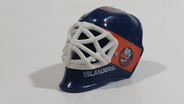 NY Islanders NHL Team Gumball Miniature Mini Goalie Mask Helmet