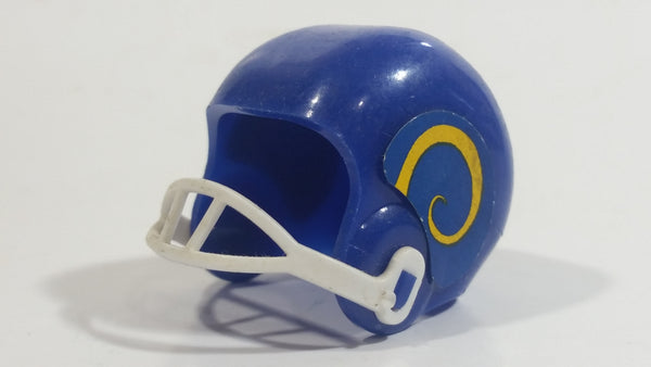 Vintage OPI Los Angeles Rams NFL Team Gumball Miniature Mini Football Helmet