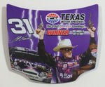 Action Racing NASCAR Texas Motor Speedway Fort Worth, TX #31 Jeff Burton Winner 1/24 Scale Hood Magnet Racing Collectible