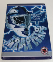 "Toronto Maple Leafs NHL Ice Hockey Team 8"" x 11"" Metal Sign With Stand On The Back"