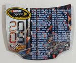 Action Racing Winner's Circle NASCAR Sprint Cup Series 2009 Schedule 1/24 Scale Hood Magnet Racing Collectible