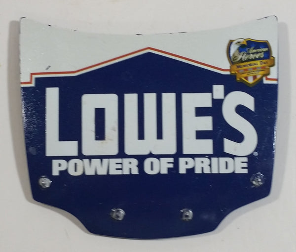 Action Racing NASCAR Lowe's Power of Pride American Heroes Memorial Day 1/24 Scale Hood Magnet Racing Collectible