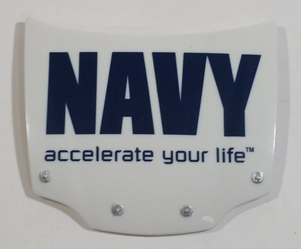 Action Racing NASCAR NAVY Accelerate Your Life 1/24 Scale Hood Magnet Racing Collectible
