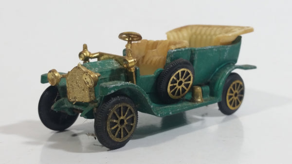 Vintage TinToys W.T. 232 1912 Packard Landaulet Mint Green Die Cast Antique Car Vehicle - Hong Kong