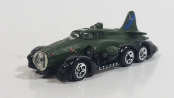2007 Hot Wheels Fast Fortress Army Green Olive Die Cast Toy Car Vehicle