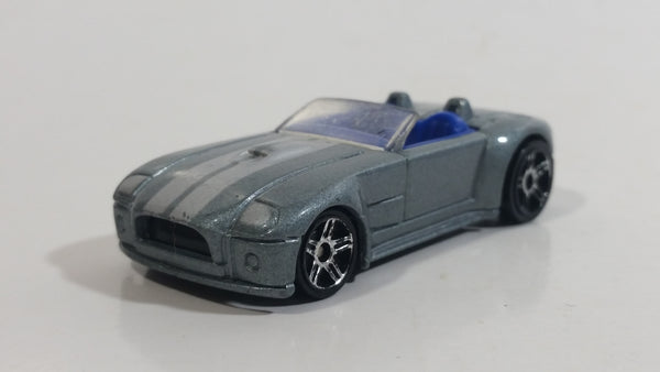 2005 Hot Wheels First Editions Realistix Ford Shelby Cobra Concept Grey Die Cast Toy Car Vehicle