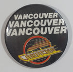 Vintage NHL Vancouver Canucks Ice Hockey Team Round Button Pin Sports Collectible