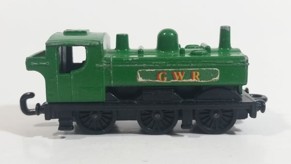 Vintage 1979 Lesney Matchbox Superfast No. 47 Pannier Tank Loco GWR Green Locomotive Die Cast Toy Car Railway Railroad Vehicle