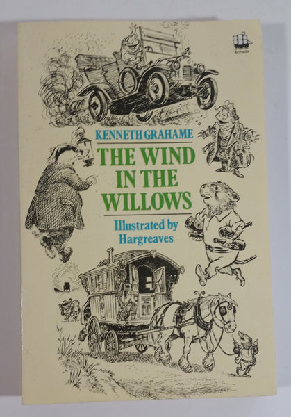 1983 Edition The Wind in The Willows Paperback Book By. Kenneth Grahame Illustrated By Hargreaves