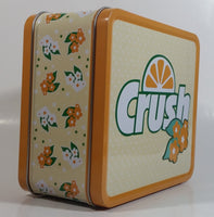 2010 Dr. Pepper Seven Up Have a Orange Crush on me Tin Metal Lunch Box Beverage Soda Pop Collectible