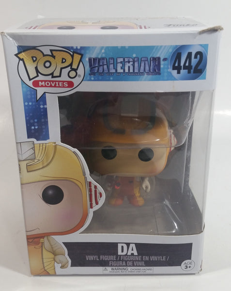 2017 Funko Pop! Movies Valerian And The City Of A Thousand Planets #442 DA Toy Collectible Vinyl Figure in Box