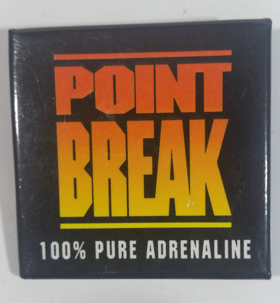 "1991 Largo Entertainment ""Point Break"" 100% Pure Adrenaline Movie Film Promotional Collectible Pin"