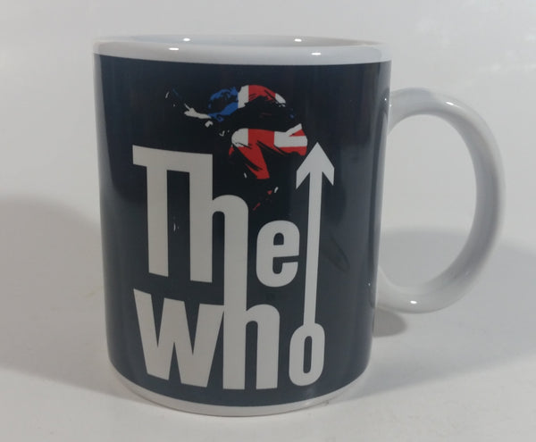 2008 A Rock Express The Who British Music Band Ceramic Coffee Mug Collectible