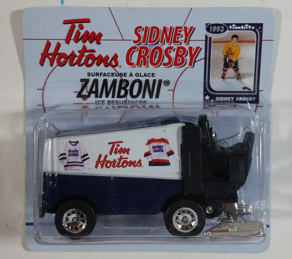 2012 Top Dog Collectibles Sidney Crosby 1993 Tim Hortons Timbits Ice Hockey Player Themed Zamboni Ice Resurfacer Die Cast Toy Car Vehicle New in Package