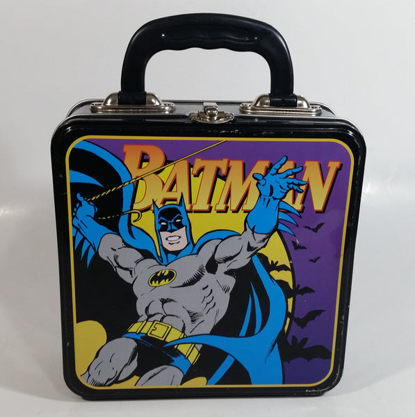 DC Comics Batman Tin Metal Lunch Box Superhero Collectible