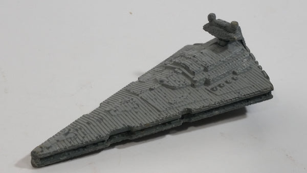 1996 Micro Machines Star Wars Imperial Star Destroyer Die Cast Toy Starship Car Vehicle