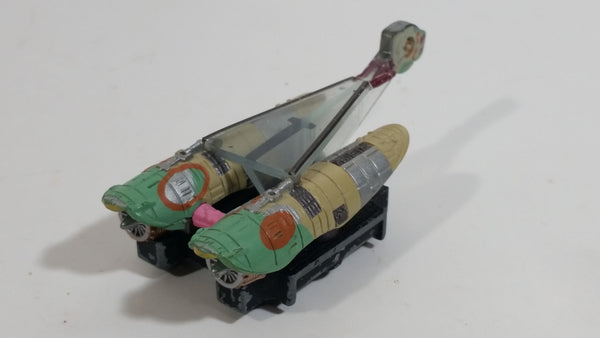 1998 Micro Machines Star Wars Episode 1 Teemto Pagalies Pod Racer Die Cast Toy Starship Car Vehicle