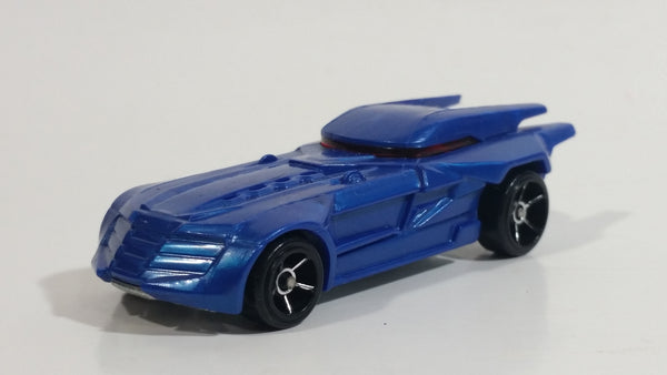 2019 Hot Wheels Batman Batmobile Dark Blue Die Cast Toy Car Vehicle