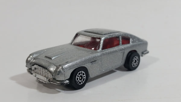 Vintage 1979 Corgi Glidrose & Eon Aston Marton DB6 Silver Die Cast Toy Car Vehicle with Ejection Seat Made in Gt. Britain