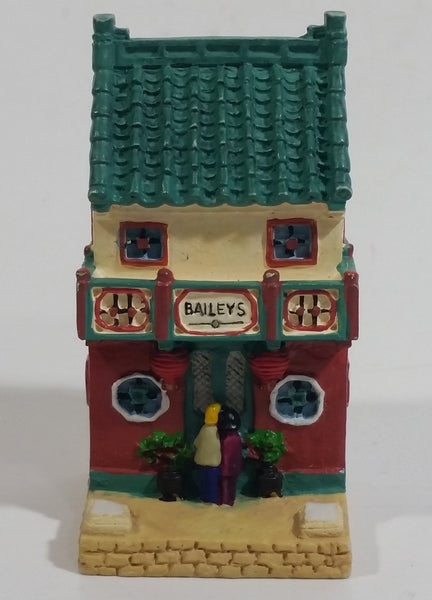 2000 Baileys Miniature House Building Resin Decorations - Limited Edition
