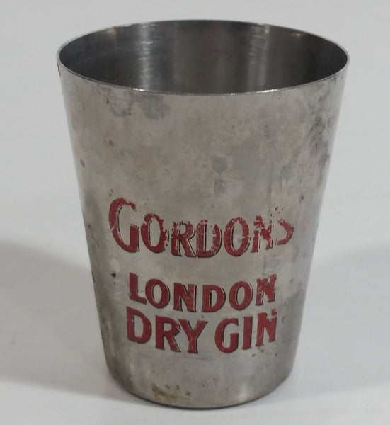 "Rare Gordons London Dry Gin 2"" Tall Metal Shot Glass"