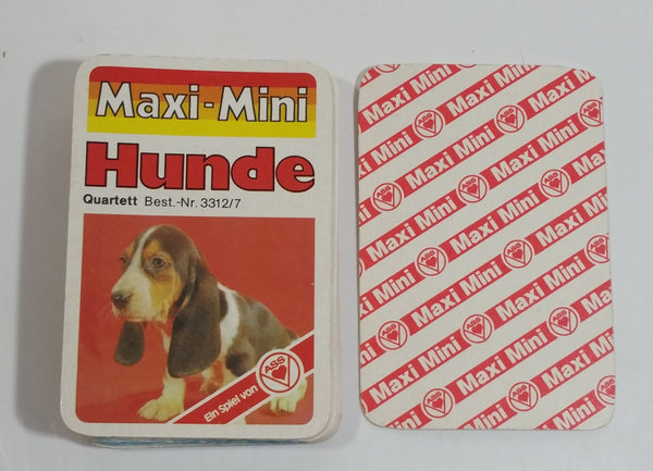 Ass Maxi-Mini Hunde Dog Themed Card Game Full Set of 26 Cards