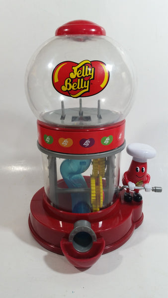 "2012 Jelly Belly Mr. Jelly Belly 9 1/2"" Tall Mechanical Candy Jelly Bean Dispenser"